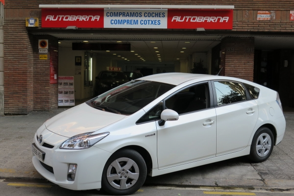 TOYOTA PRIUS 1.8 HSD ECO IMPECABLE SOLO 40.000 KMS