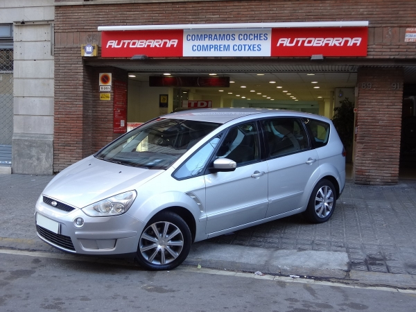 FORD S-MAX 1.8 TDCI TREND IMPECABLE 7 PLAZAS